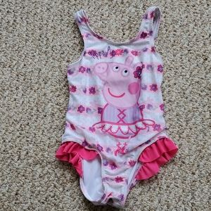 Peppa Pig bathing suit size 4T